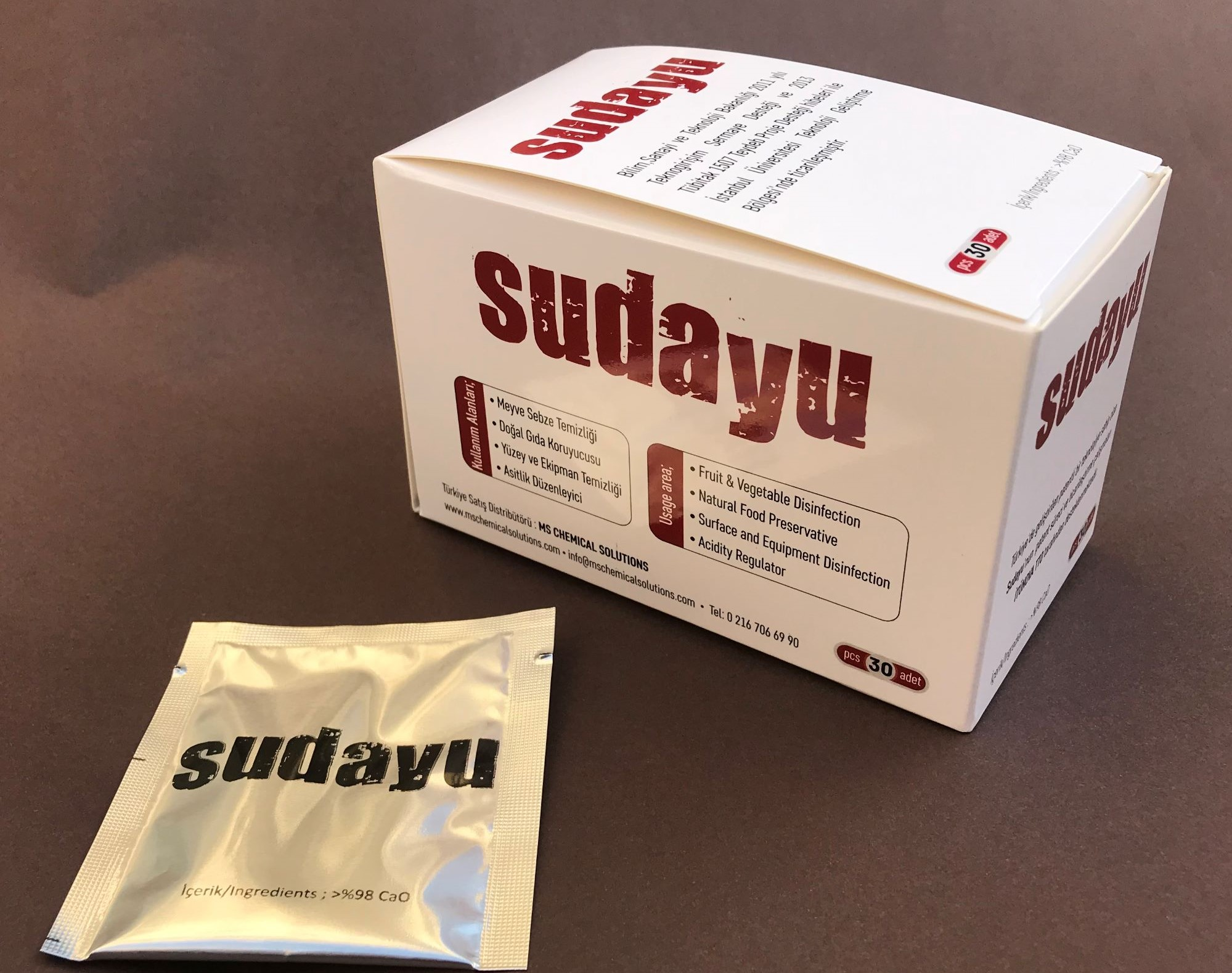 We started to sell our new product SUDAYU